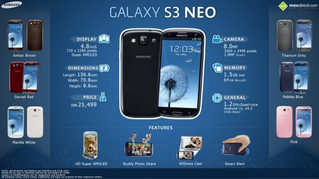 Quick Facts: Samsung Galaxy S3 Neo
