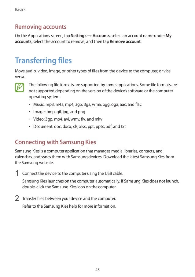 samsung s4 operating instructions