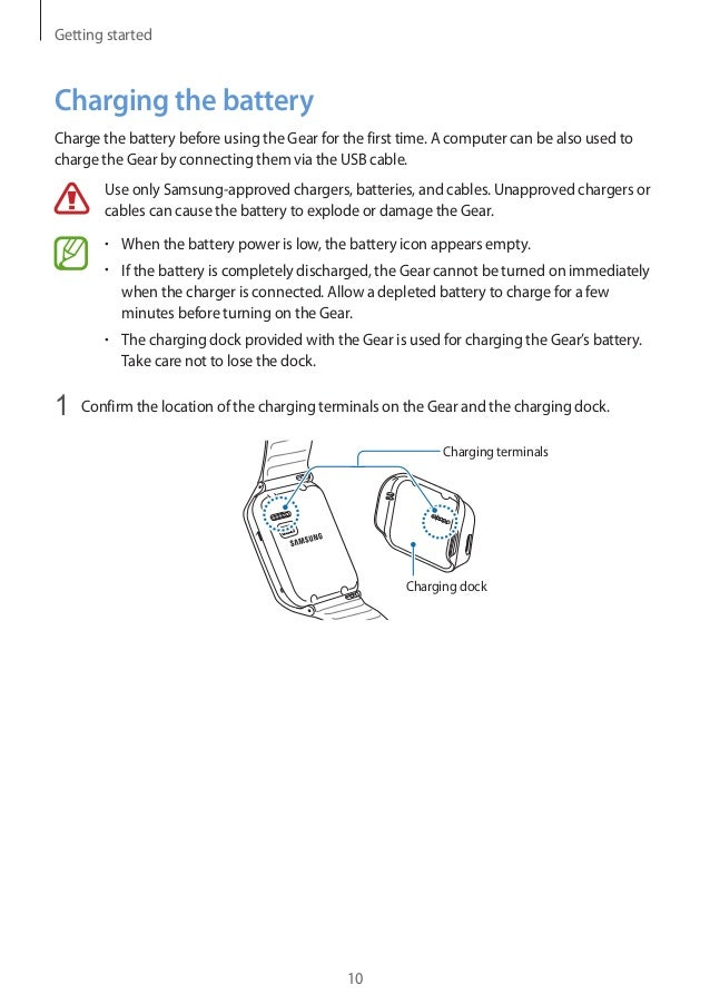 samsung gear 2 user manual rh slideshare net Samsung Refrigerator Problems Samsung ManualsOnline