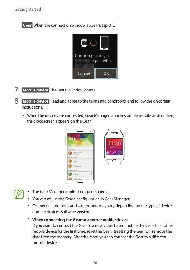 samsung gear 2 user manual rh slideshare net Samsung G2 Cell Phone Samsung G4