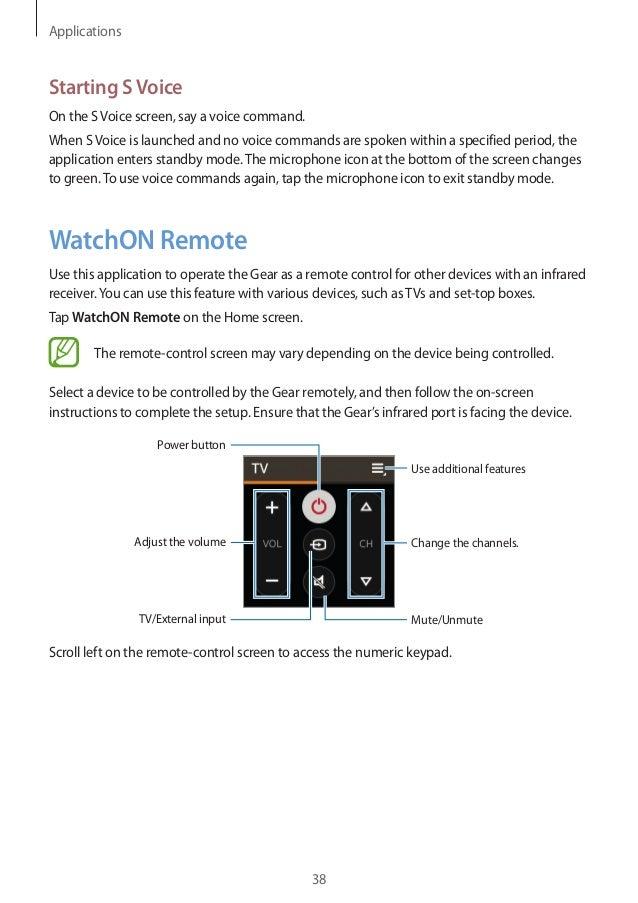 Samsung Gear 2 User Manual