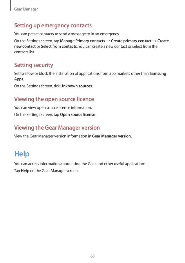 samsung gear 2 user manual rh slideshare net