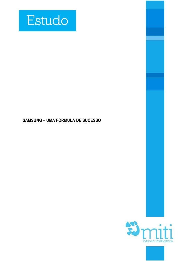Samsung   uma fórmula de sucesso formatado