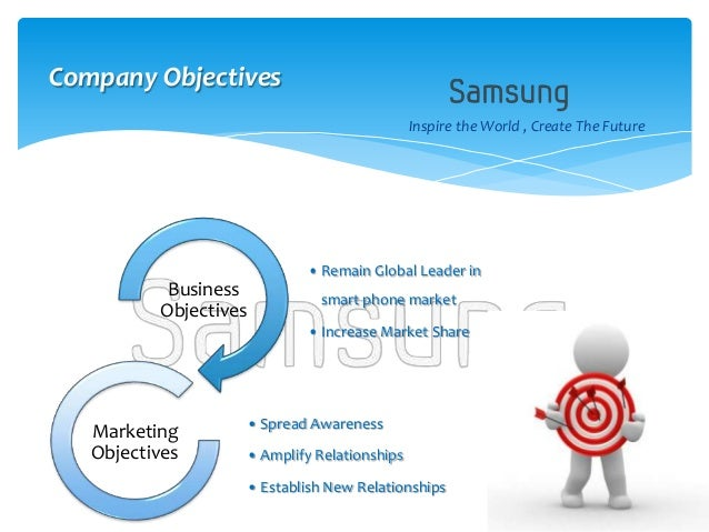 objectives of samsung company essays