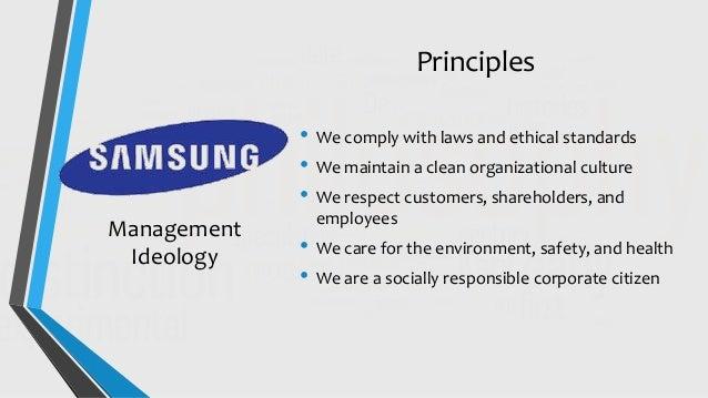 organizational culture of samsung