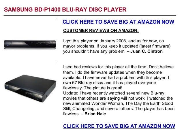 Samsung BD-P1400 Sale