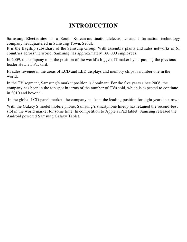 Samsung case study college essays about yourself