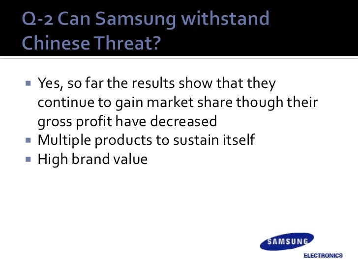 samsung electronics group 7 strategic management case study Strategic analysis and marketing strategy for samsung print reference this published: 23rd march, 2015 disclaimer: this essay has been submitted by a student this is not an example of the work written by our professional essay writers you can view samples of our professional work here any opinions, findings, conclusions or.