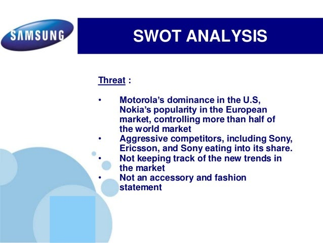 sony xperia swot Swot analysis of sony pictures television - strengths are profitability and business outlook full coverage of market, competition, external and internal factors detailed report with strengths, weaknesses, opportunities, threats.