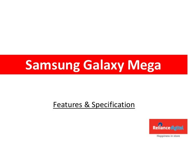 Features & Specification Samsung Galaxy Mega