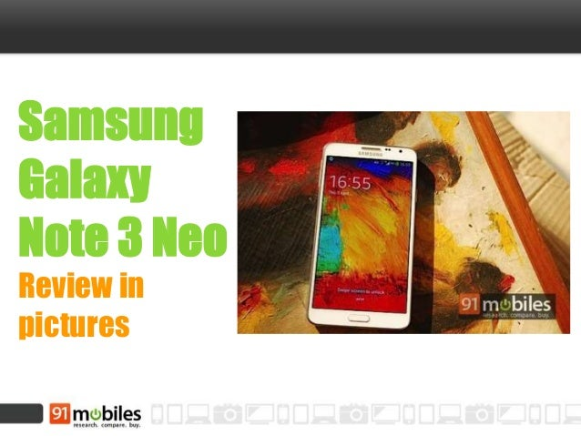 Samsung Galaxy Note 3 Neo Review in pictures