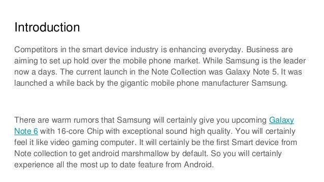 Samsung galaxy note 6 release date specs features and price for Galaxy note 2 release date features