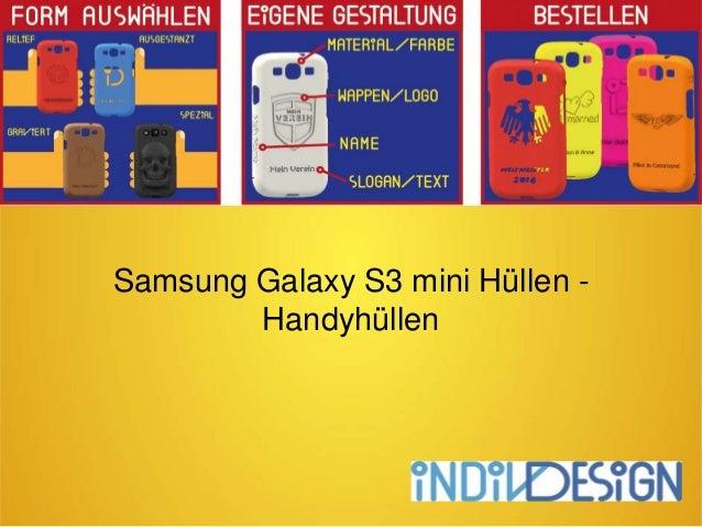Samsung Galaxy S3 mini Hüllen - Handyhüllen