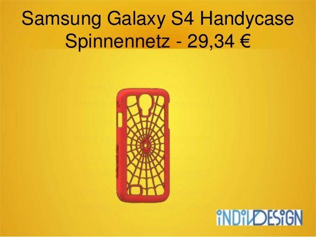 Samsung Galaxy S4 Handycase Spinnennetz - 29,34 €