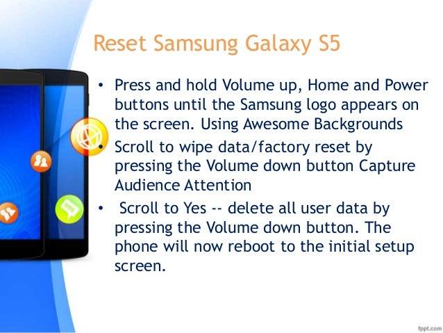 Samsung galaxy S5 Manual