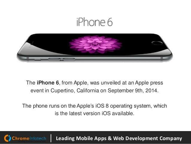 Samsung Galaxy S6 Vs iPhone 6 Slide 2