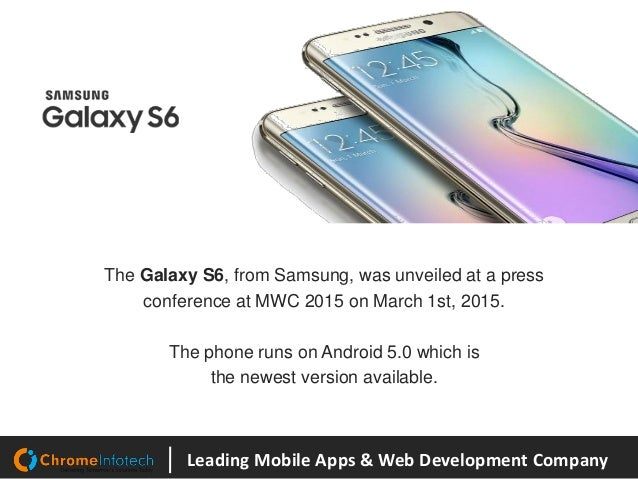 Samsung Galaxy S6 Vs iPhone 6 Slide 3