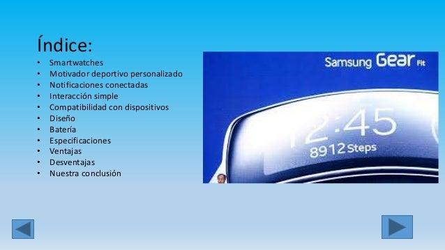 Samsung gearfit  Slide 2