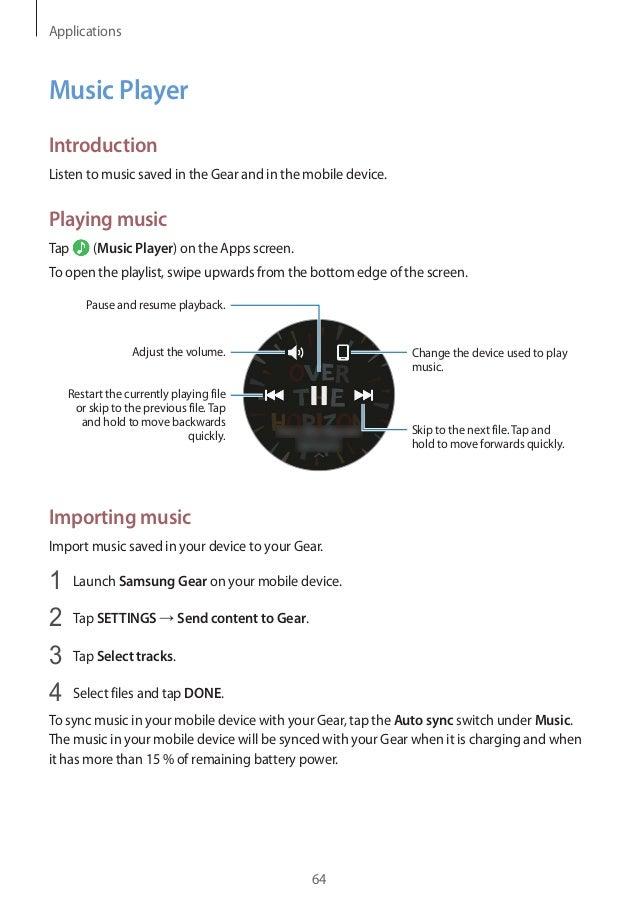 Samsung Gear S3 User Manual Manual Guide
