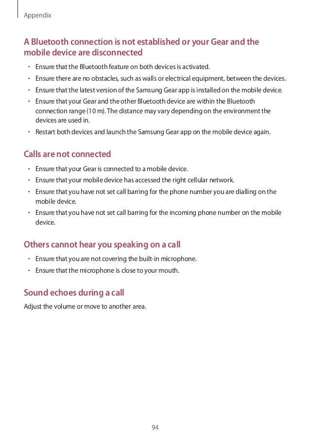 samsung gear 3 user manual