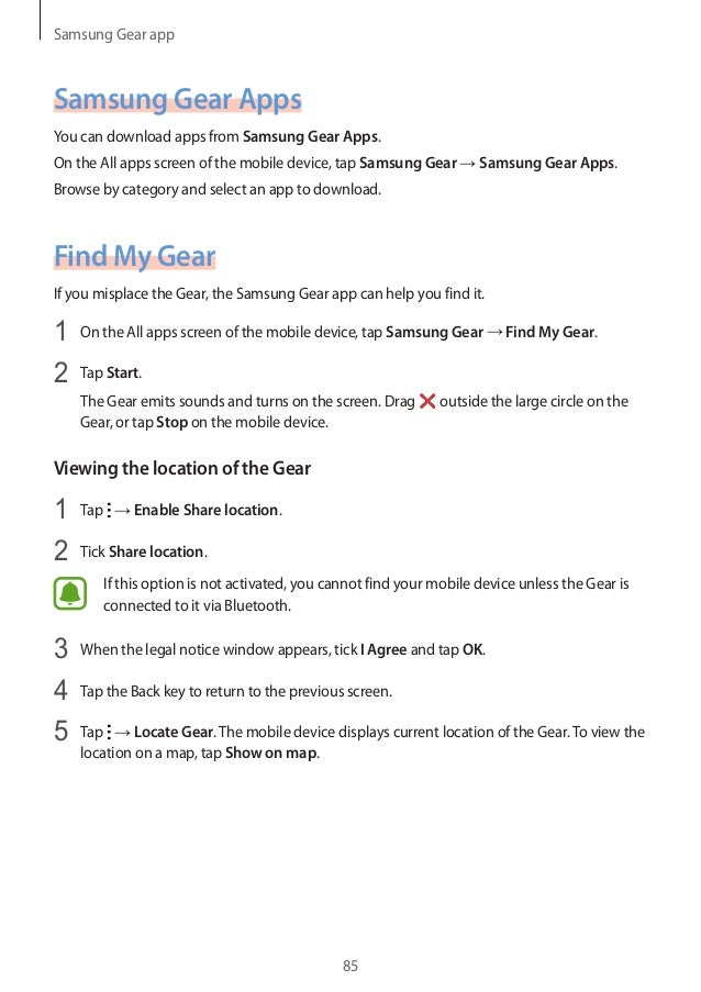 how to download apps on samsung gear 2