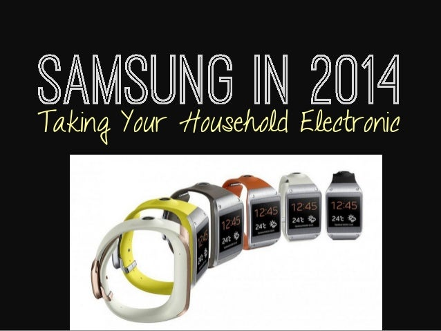 Taking Your Household Electronic