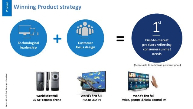 Samsung'S Product & Marketing Strategy
