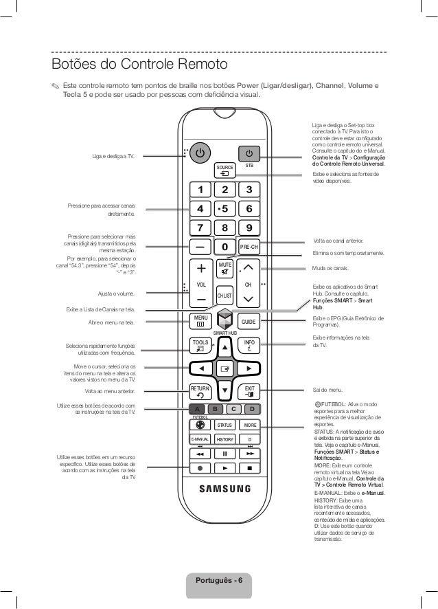 samsung tv led s rie 5500 manual de instru es da televis o rh pt slideshare net manual da smart tv samsung 32 manual de instruções smart tv samsung