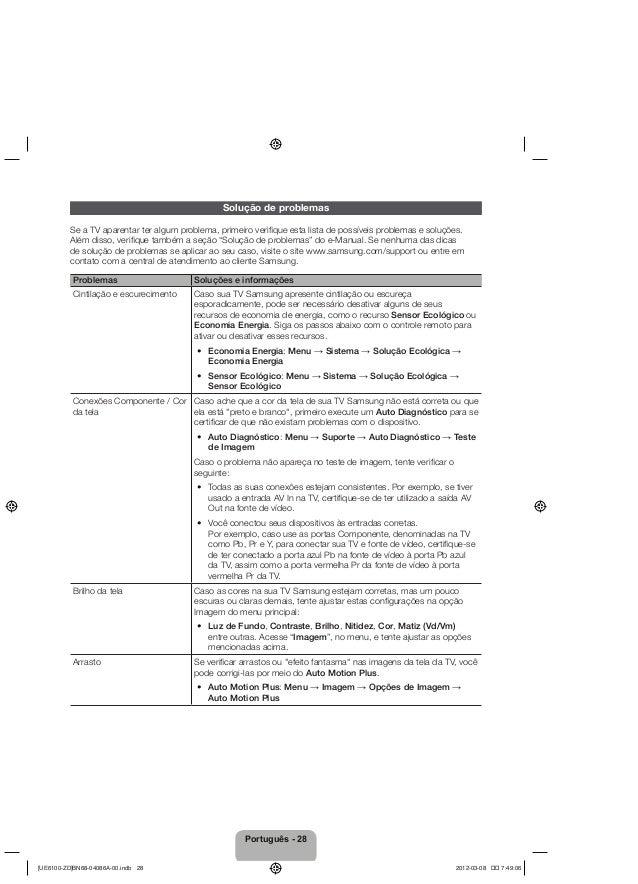 Samsung tv led srie 6100 manual de instrues da televiso 28 fandeluxe Image collections