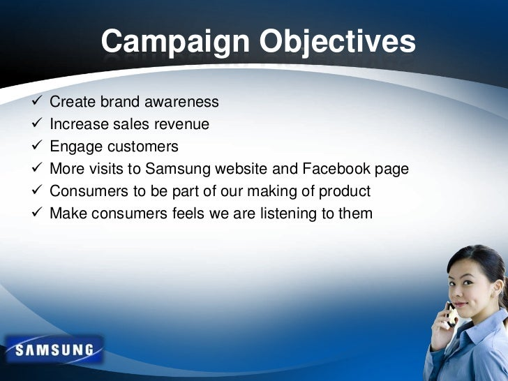 samsung objectives Samsung is the largest mobile phone maker and television manufacturer and second largest semiconductor chip producer the company is headquartered in seoul, south.