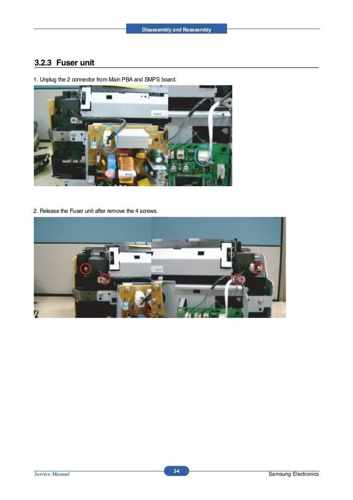 Samsung ml-1640 + 2240 service manual & repair guide download man.