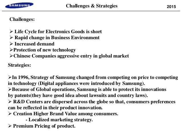samsung market entry strategy