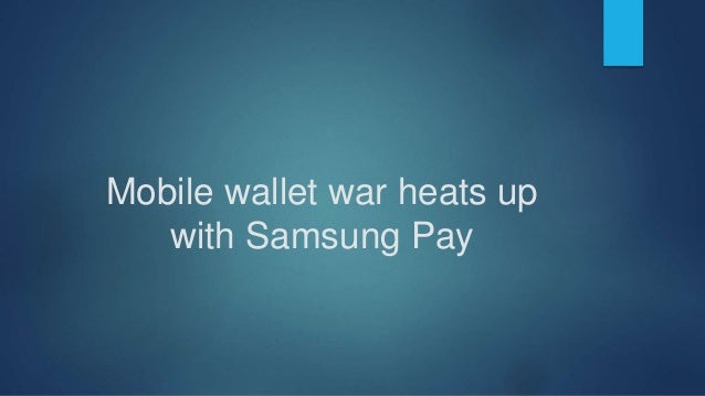  Samsung noted that its technology supports more credit card machines than Apple Pay AAPL 0.62% and Google's GOOGL 0.67% ...