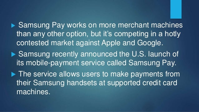  Mobile wallets have grown in popularity thanks to Apple Pay, which launched in 2014 The market was further boosted this ...