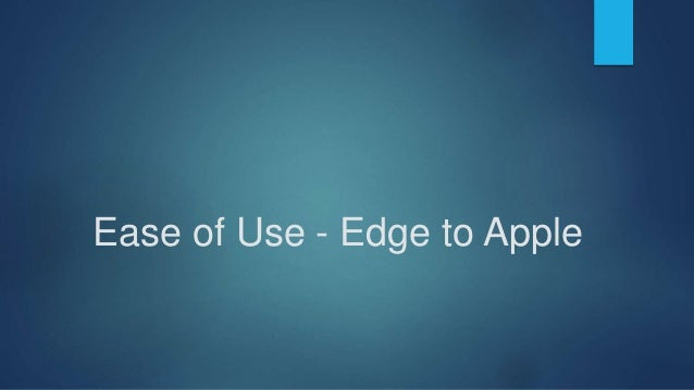 Security - Edge to Samsung