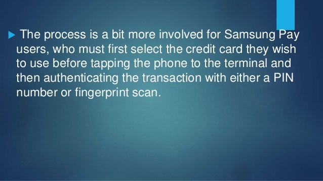 And both systems use what is called Mobile Digital Enablement System tokenization, which refers to the process where indi...