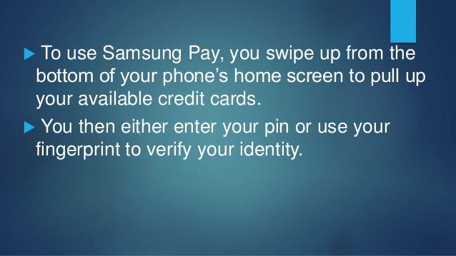 To use Android Pay, you simply have to unlock your phone and place it over a compatible NFC payment terminal. Your hands...