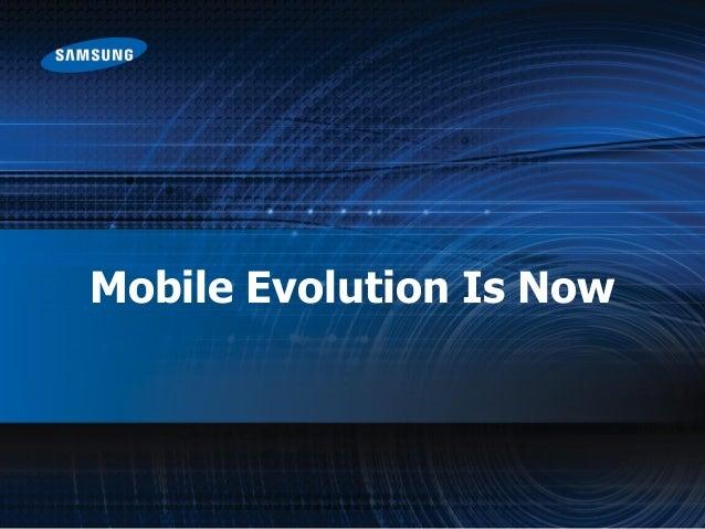 Samsung presentation- Powering Next Gen Mobility - uplinq 2013  Slide 3