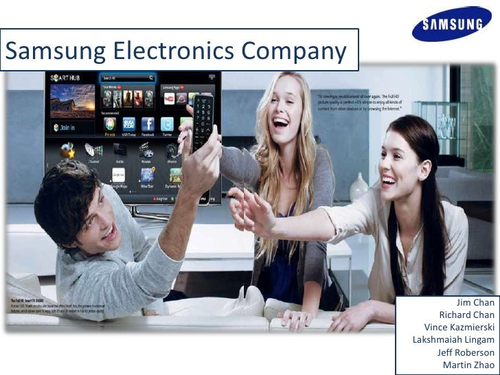 Samsung Electronics Company                                        Jim Chan                                   Richard Chan...