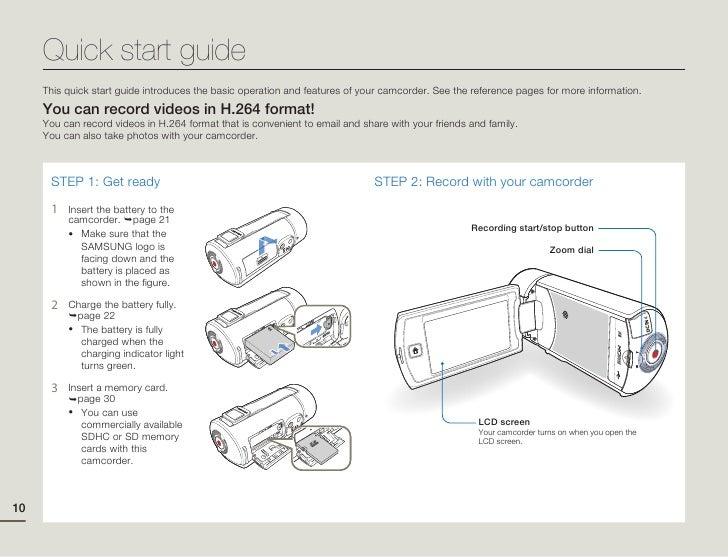 samsung camcorder q10 user manual rh slideshare net Samsung TV Owner Manuals Samsung Galaxy Phone Manual