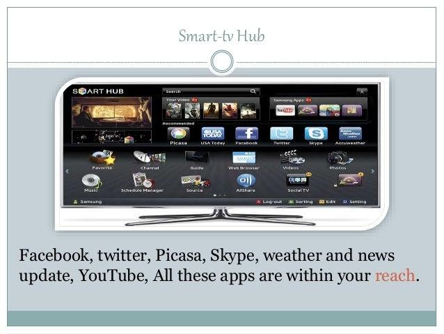 Samsung smart television