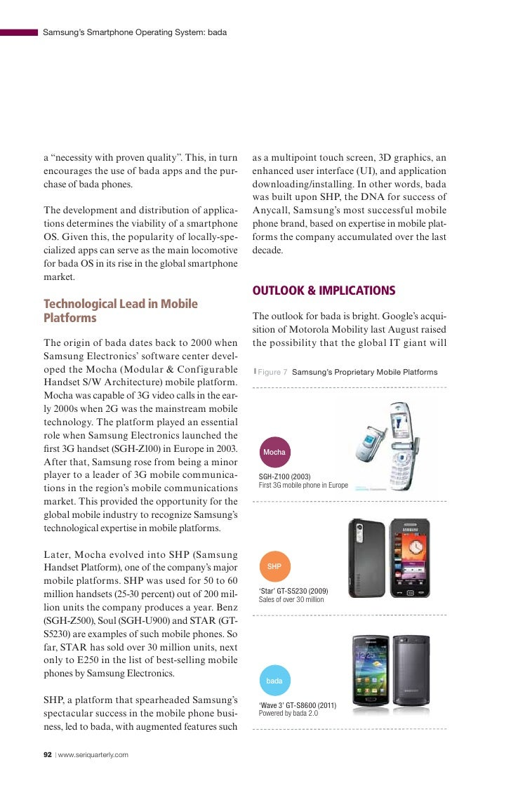 The brand of mobile phone using android os essay Coursework Sample
