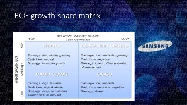 bcg matrix of samsung pdf