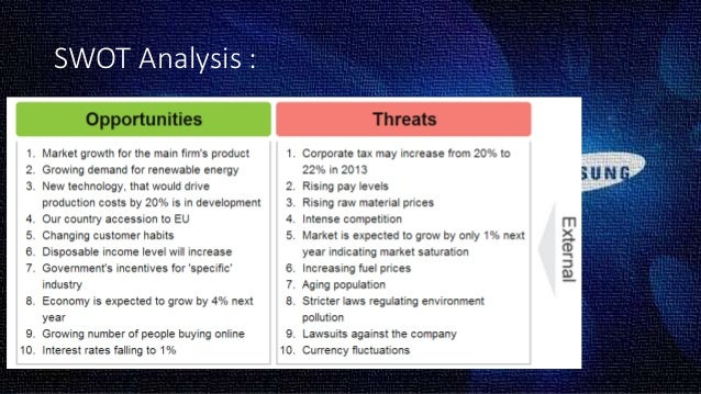 swot analysis smartphone With more and more wearable devices and smartphone apps being released that  are  section 3 details a swot analysis on self-tracking discussions and.