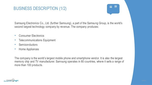 SWOT analysis of Samsung Mobile in China Essay