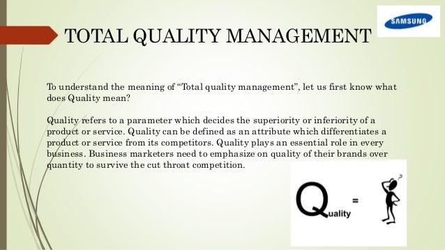 samsung quality culture