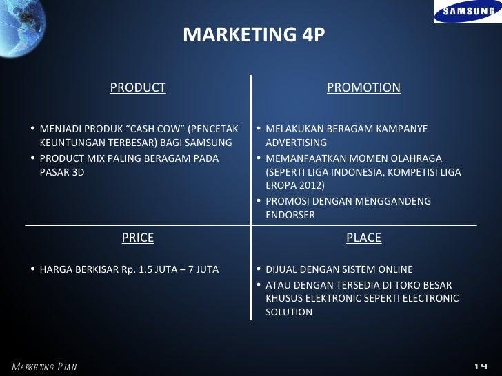 Marketing plan for samsung
