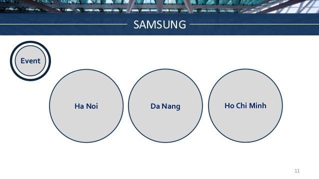 WHAT WE'LL COVER Ha Noi Da Nang Ho Chi Minh Event SAMSUNG 11
