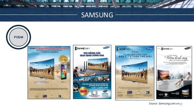 POSM Source: Samsung.com.vn SAMSUNG 19