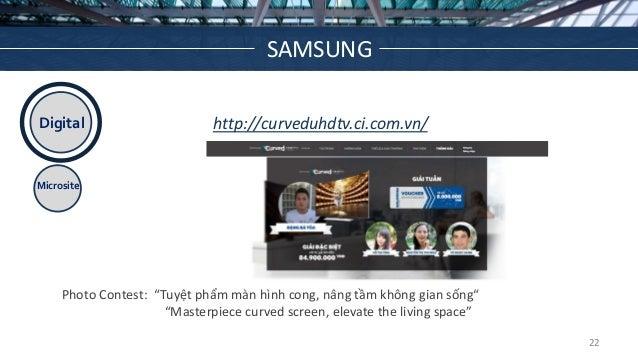 """Digital Microsite http://curveduhdtv.ci.com.vn/ Photo Contest: """"Tuyệt phẩm màn hình cong, nâng tầm không gian sống"""" """"Maste..."""